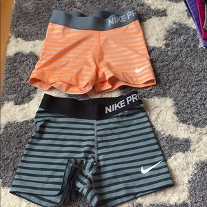 Nike pro compression short spandex